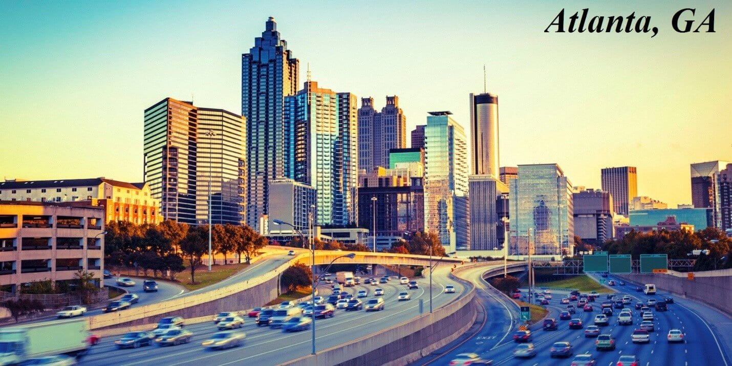 Top us cities for start-ups and entrepreneurs - Atlanta - Moving Feedback