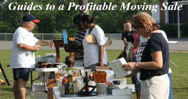 Top 8 Tips for a Profitable Moving Sale - Moving Feedback