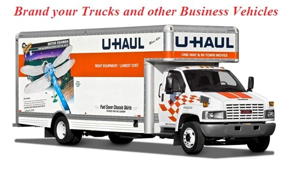 Brand your Trucks and other Business Vehicles - Moving Feedback