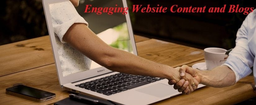 Engaging Website Content and Blogs - Moving Feedback