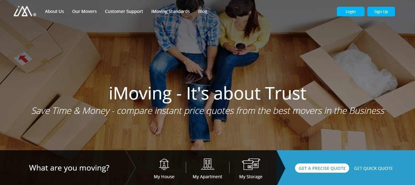 Best Moving Marketplaces of 2018 - iMoving