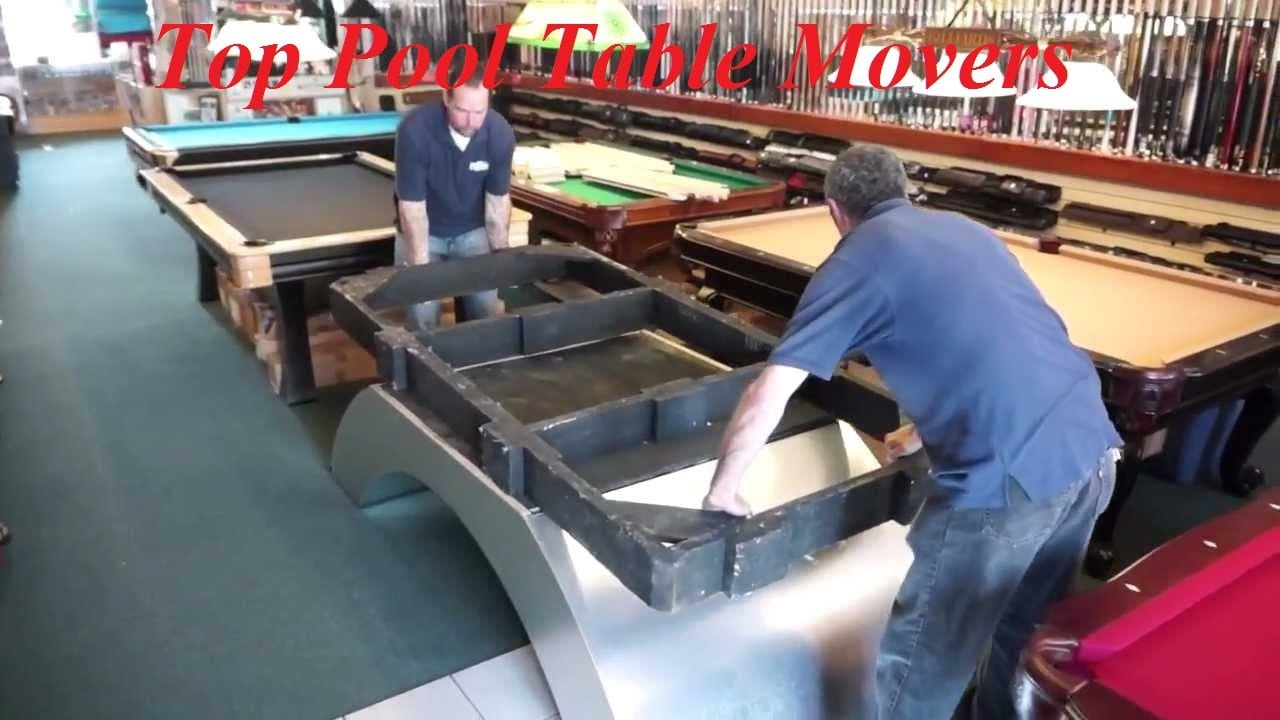 Top Pool Table Movers