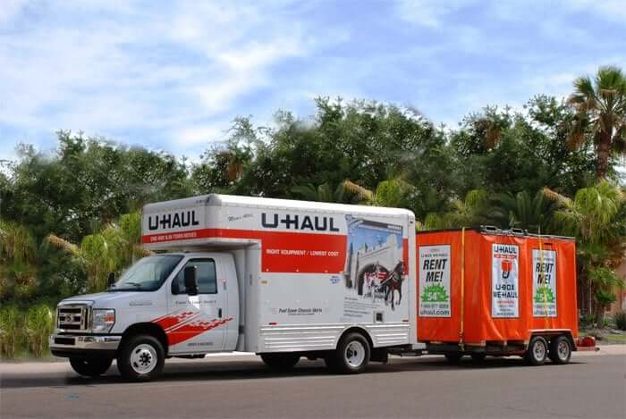 Wrap-Up on U-Haul Moving Truck