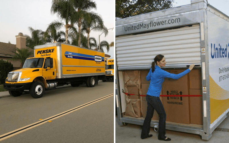 Moving Truck Companies >> Truck Rental Companies Vs Moving Container Companies