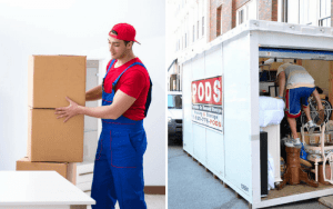 Full Service Moving vs PODS Moving Services