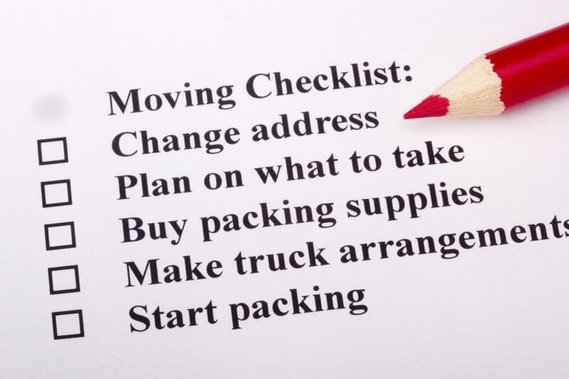 Moving Checklist - Moving Feedback