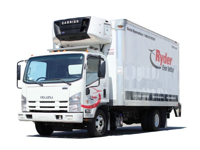Refrigerated Box Truck Rental - Ryder Truck Rental