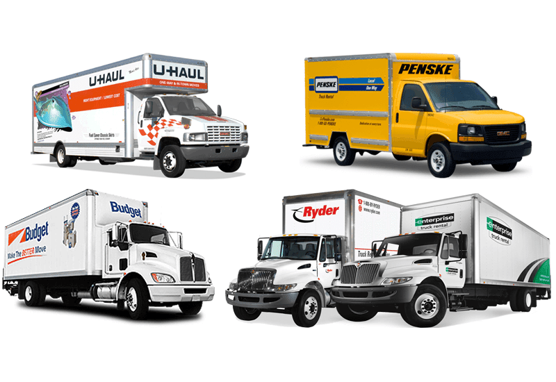 Top 5 Truck Rental Companies - Moving Feedback