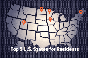 Top 5 U.S. States for Residents - Moving APT