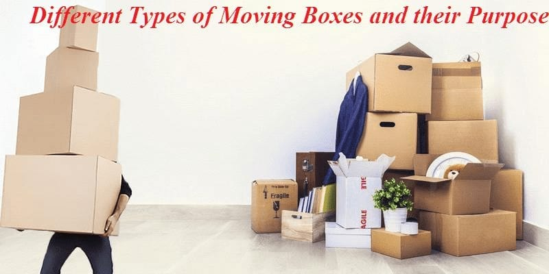 Types of Moving Boxes